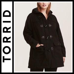 Torrid Toggle Coat NWOT